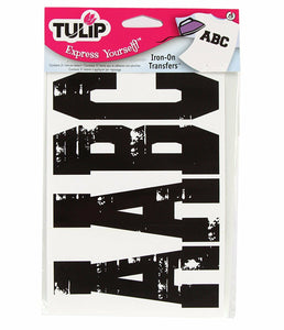 Cosplay - Tulip Iron On Transfer Paper Letters