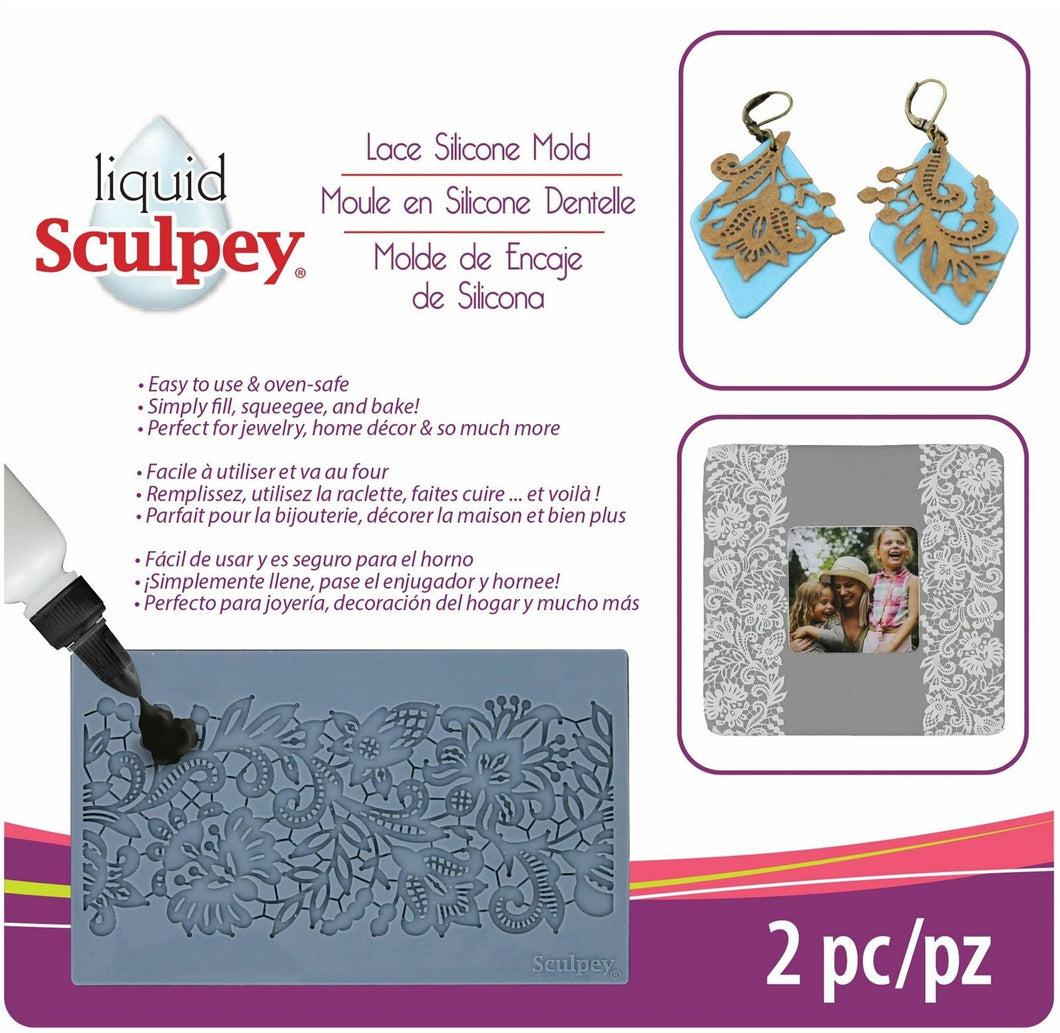 SCULPEY LACE MOLD