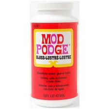 Mod Podge Gloss 16oz - Decoupage Sealer - Plaid CS11202