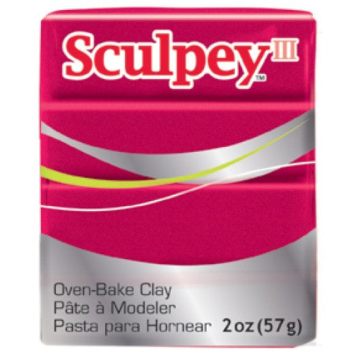 Sculpey III  Deep Red Pearl (2oz) (57g)
