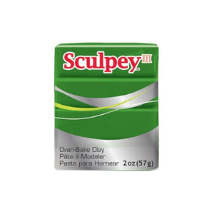 Sculpey III  Leaf Green (2oz) (57g)
