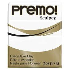 Premo Sculpey White (2oz)