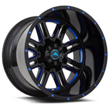 A106 Black Milled Blue