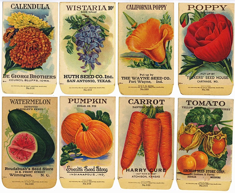 1918 series labels