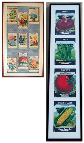 antique seed packets