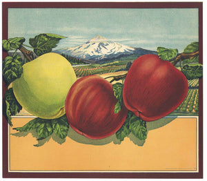 Stock, Simpson Doeller Vintage Apple Crate Label
