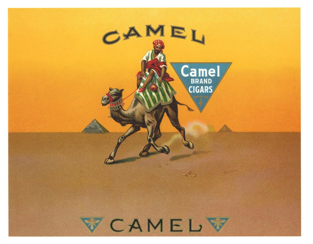 Camel Brand Inner Cigar Box Label