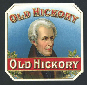 Old Hickory Brand Inner Cigar Box Label
