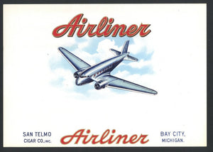 AIRLINER Inner Cigar Box Label (CIG095)