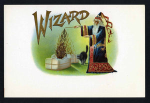 Wizard Inner Cigar Box Label