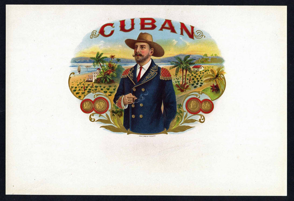 Cuban Brand Inner Cigar Box Label