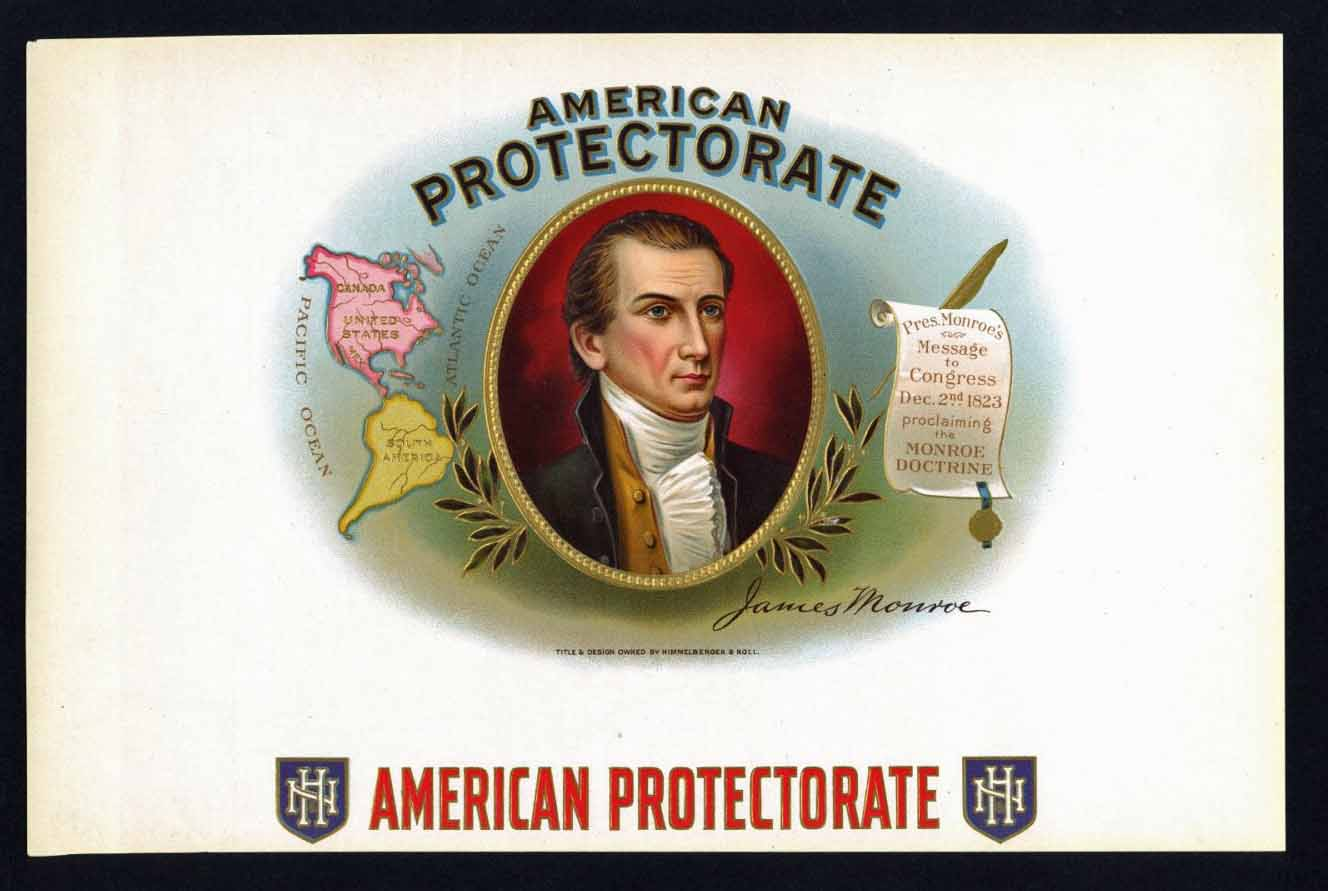 American Protectorate Inner Cigar Box Label