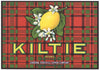 Kiltie Brand Vintage Corona California Lemon Crate Label