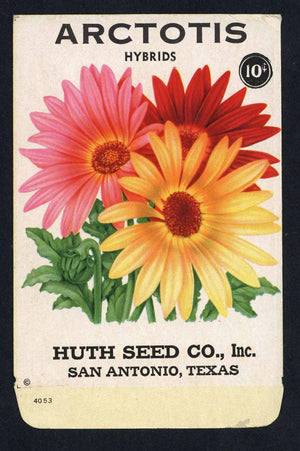 Arctotis Vintage Huth Seed Co. Seed Packet