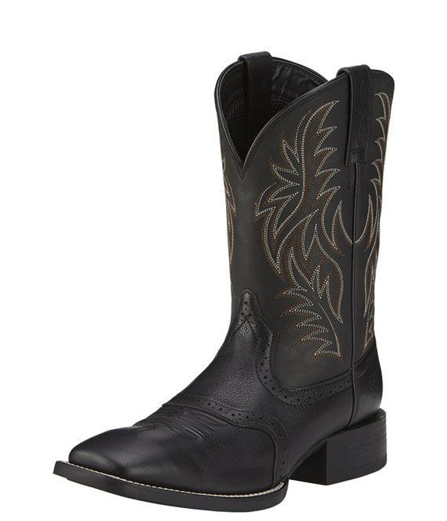 539dff34a1a Ariat© Men's Sport Wide Square Toe Western Boot