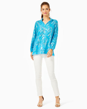 Galiana Silk Top