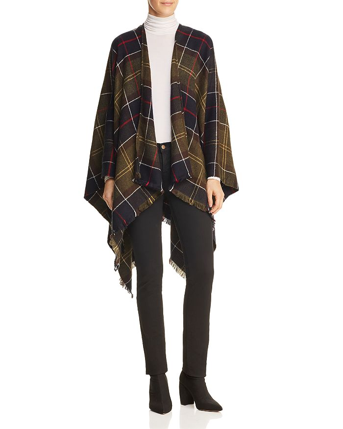 Barbour Staffin Tartan Serape Wrap