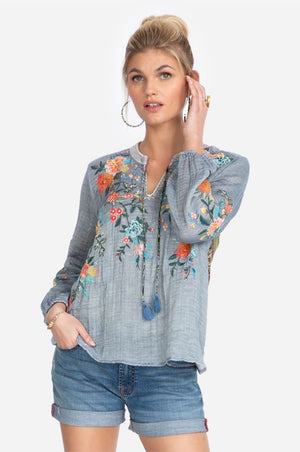 Norah Effortless Peasant Blouse
