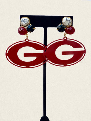 University of Georgia Earrings