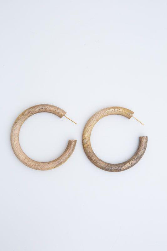 Large Timber Hoops