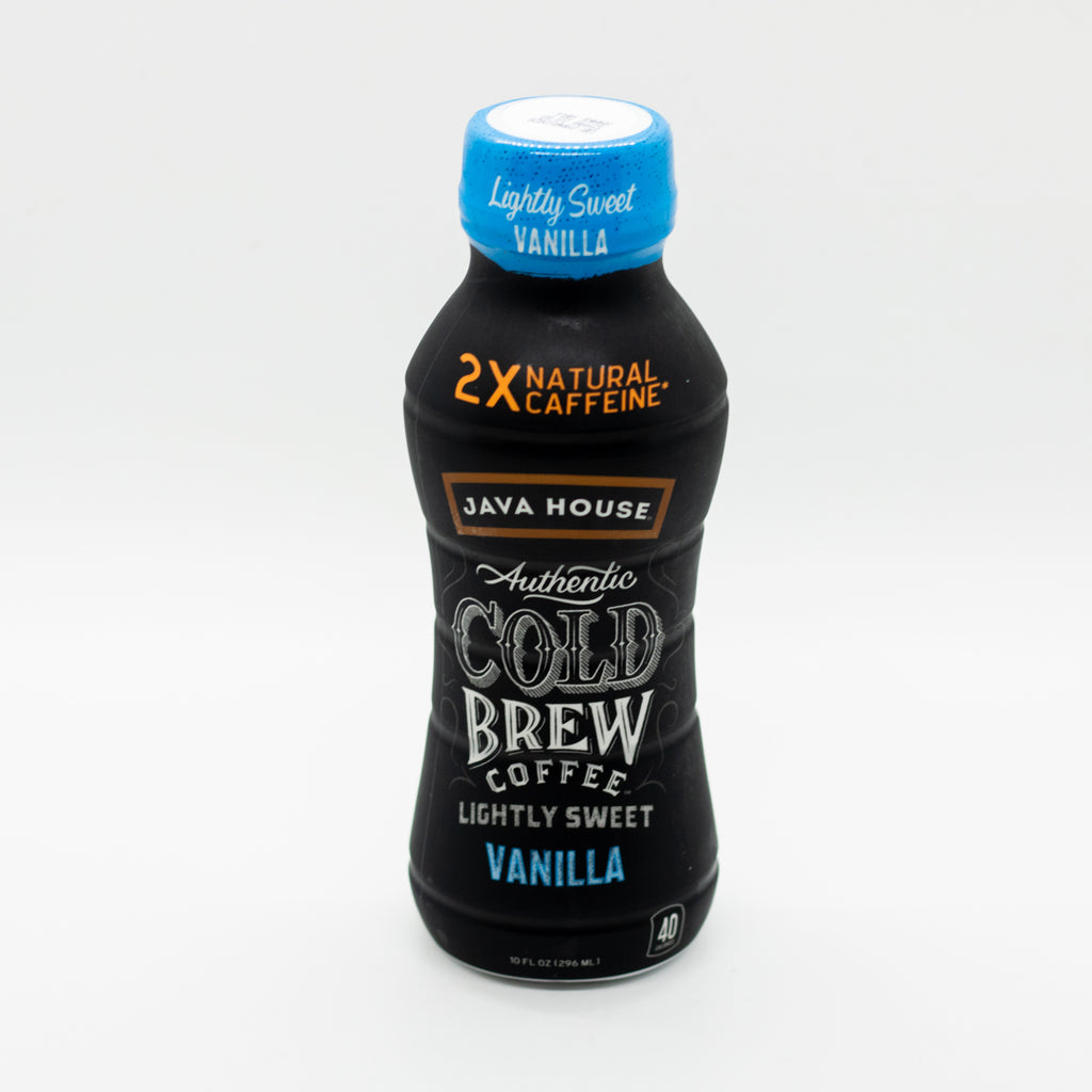 Bottled Cold Brew (Vanilla Lightly Sweet) (12ct)