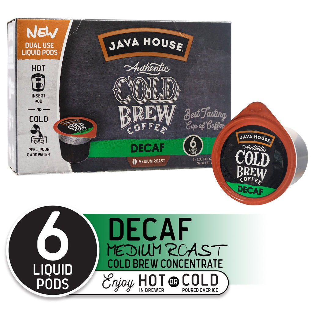 24ct Java House Pods (Decaf)