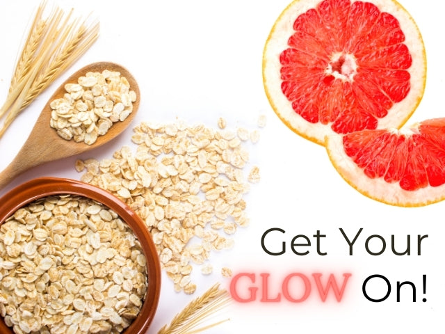 Get Glowing with Oatmeal & Grapefruit