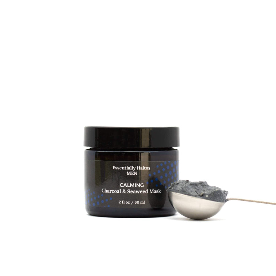 Essentially Haitos Masks Calming Charcoal and Seaweed Mask