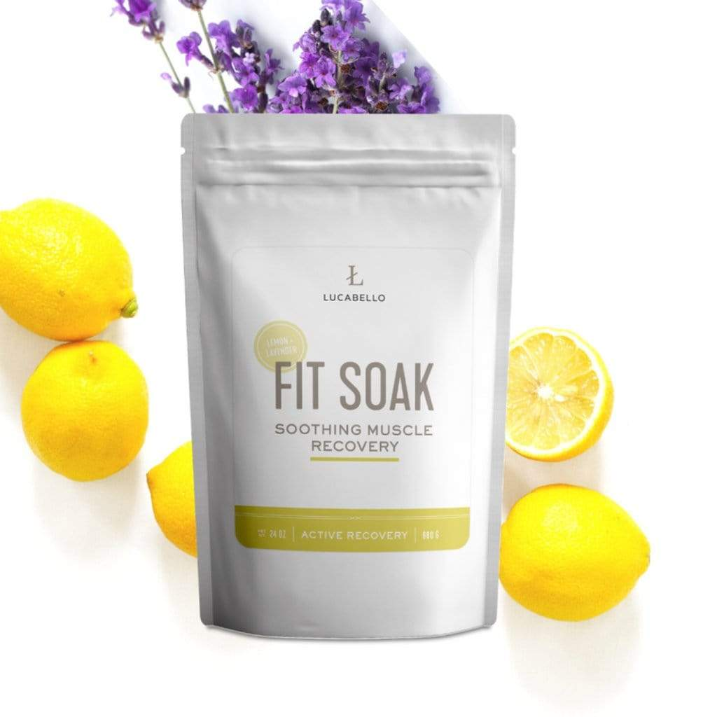 Lucabello Health and Fitness Lucabello - Fit Soak Lemon Lavender