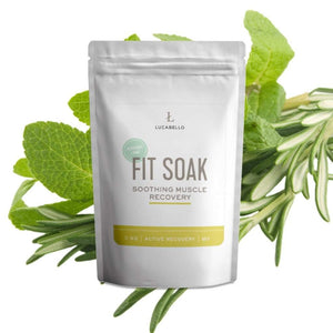 Lucabello Health and Fitness Lucabello - Fit Soak Rosemary Mint