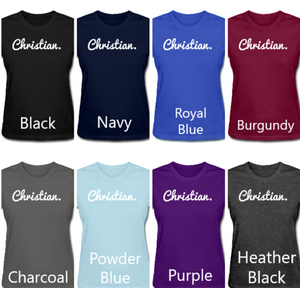 Ladies' Christian. Period. Tee