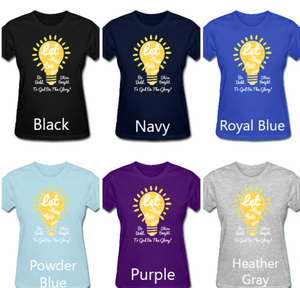 Ladies' Let Your Light Shine Tee