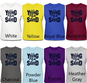 Ladies' Young Fly & Saved Tee