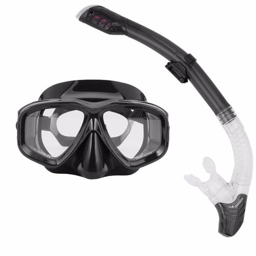 Professional Diving Masks Goggle Full Dry Silicone