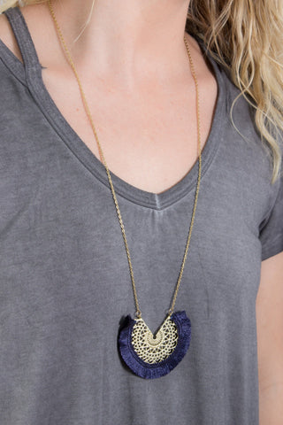 Florence Tassel Necklace