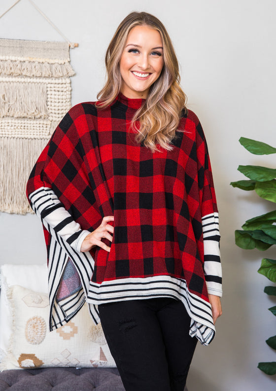 Holly Poncho Top