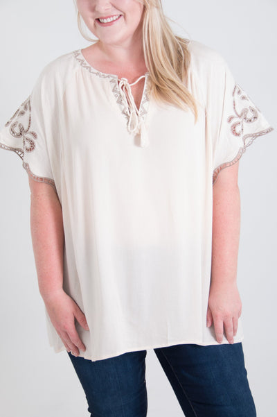 Whitley Curvy Top