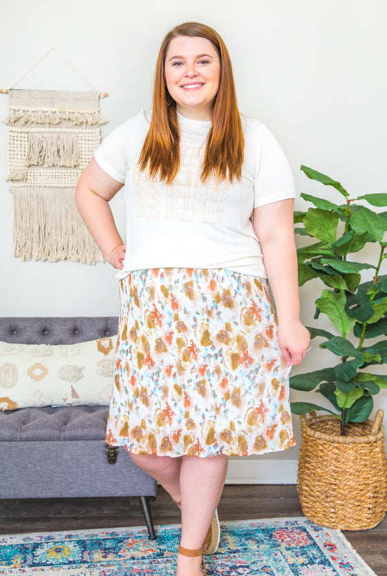 Arabella Curvy Skirt