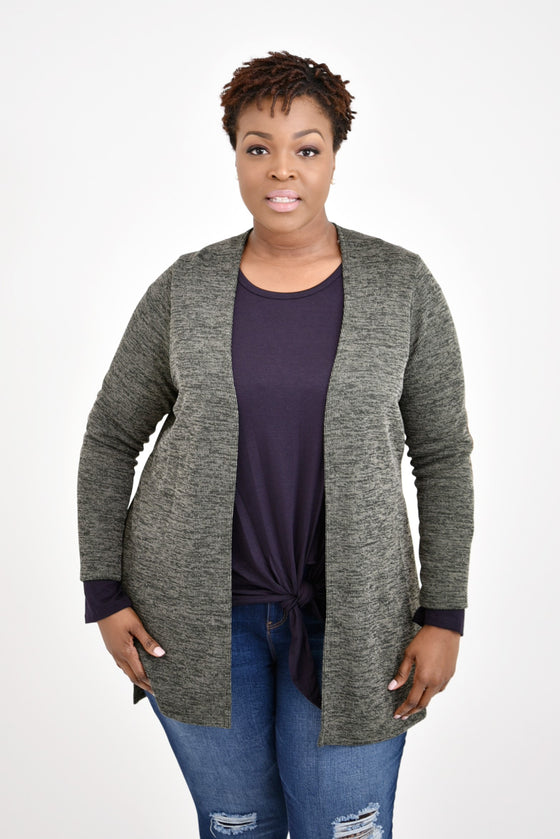 Kimberly Curvy Cardigan