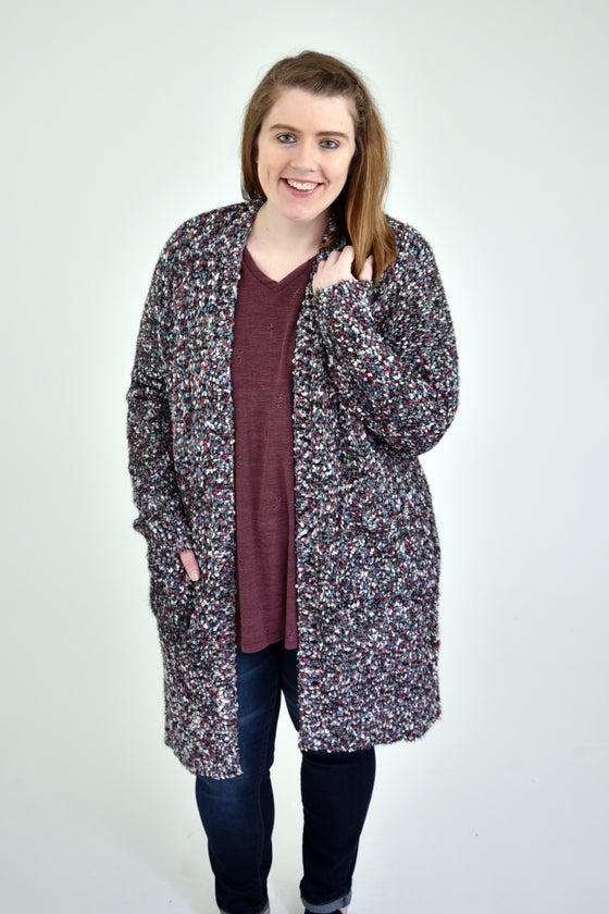 Emmalyn Curvy Cardigan