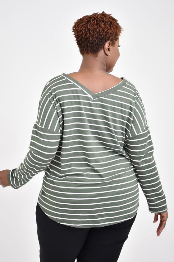 Sharon Curvy Top