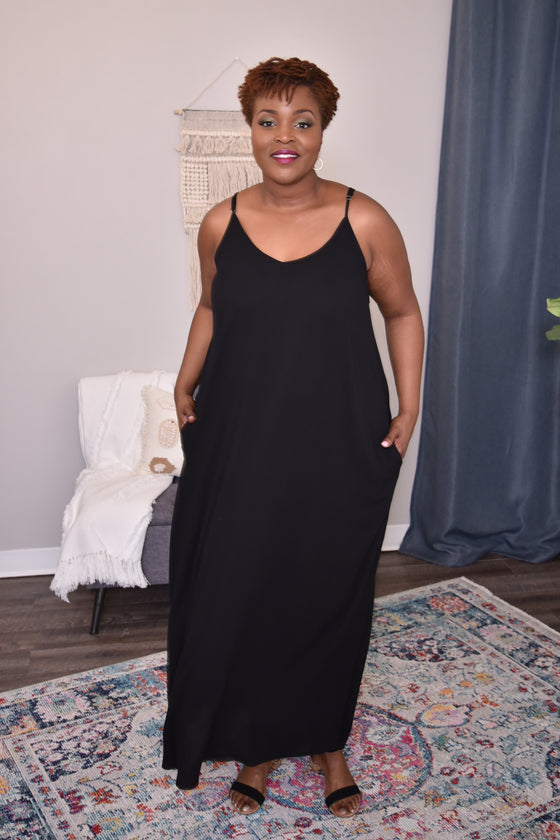 Cori Curvy Maxi Dress