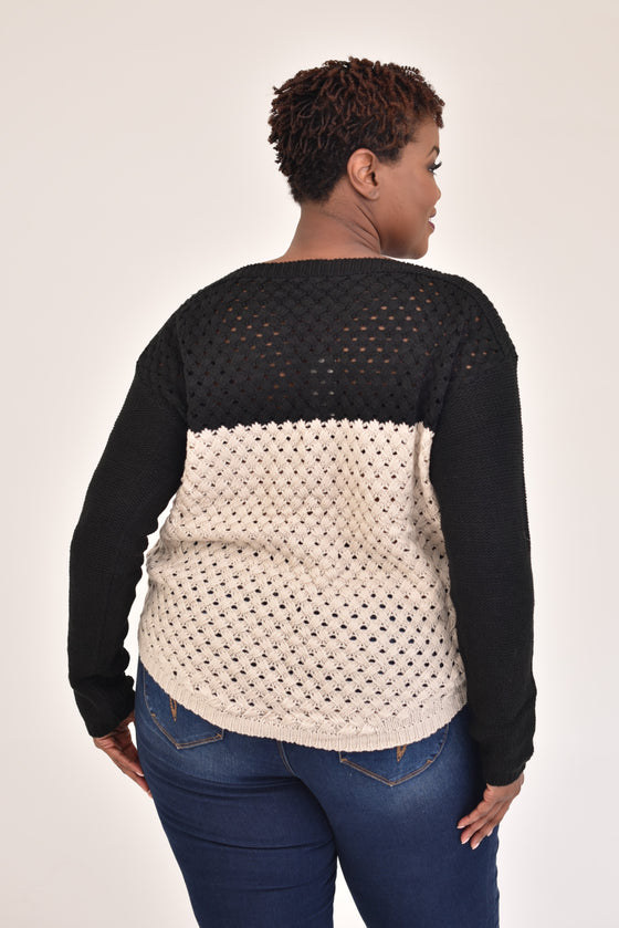 Jessie Curvy Sweater