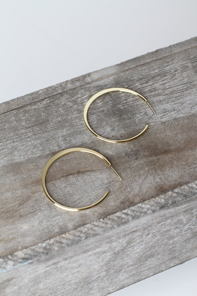 Nevaeh Hoop Earrings