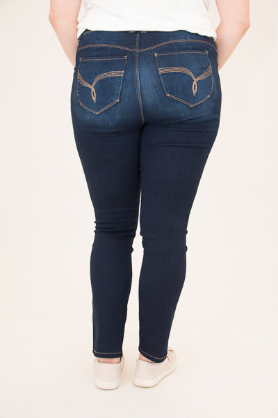 Adrienne Curvy Jeans