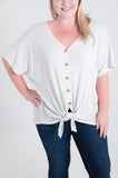 Kaelyn Curvy Knot Top