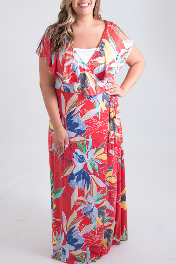 Liana Curvy Maxi Dress