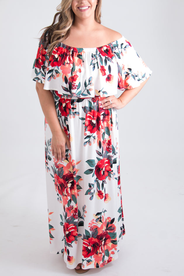 Perry Curvy Maxi Dress