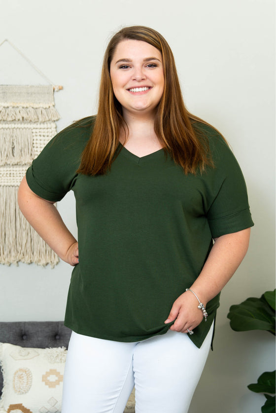 Sofiah Curvy Top