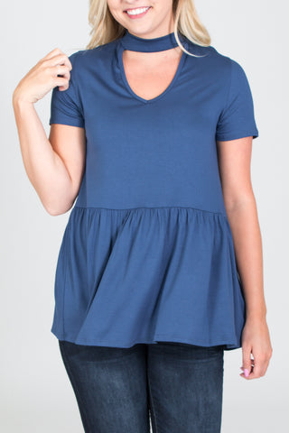 Livie Curvy Top